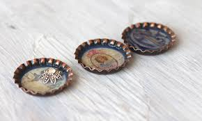 bottle cap necklaces where your treasure is fun with bottle caps