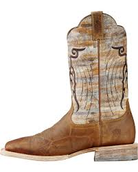 ariat tan mesteno cowboy boots square toe country outfitter