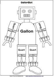 Gallon Worksheet Gallon Bot