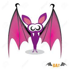 halloween bat clip art vector funny devil bat with wings halloween character royalty