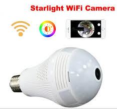 light bulb security system 2018 security 960p fisheye panoramic wifi wireless p2p network ip