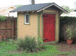 Storage Shed With Windows Designs Exterior Design Interesting Garden Shed With Green Grass And