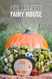 pumpkin house decorating for fairies darice