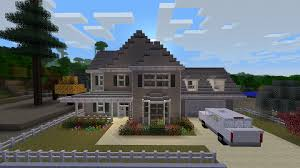 epic minecraft house done in the style of a treehouse description