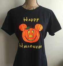 T Shirt Halloween Happy Halloween Shirt Disney Halloween Shirt Halloween