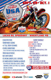 ama lucas oil motocross tickets for ama pro am motocross friday in wheatland from showclix
