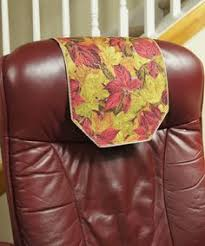 Leather Sofa Headrest Covers Recliner Headrest Covers This Is United Fabrics Upholstery