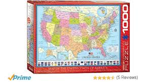 usa map jigsaw puzzle by hamilton grovely 2 eurographics 6000 0788 map of the united states puzzle 1000