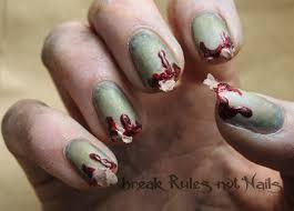 zombie nail art break rules not nails