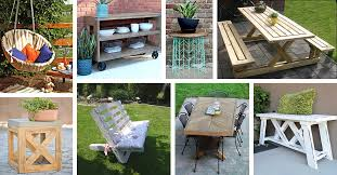 patio furniture ideas 29 best diy outdoor furniture projects ideas and designs for 2018