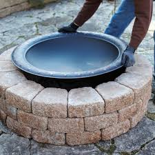 Fire Pit Inserts by Review Brick Fire Pit Ring Garden Landscape