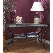 ashley antigo slate dining table ashley antigo slate tile sofa table in black t233 4