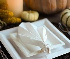 leaf napkin fold thanksgiving napkin fold chinet