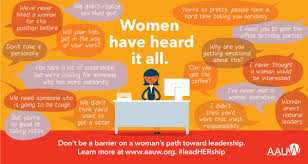 for to be barriers and bias the status of women in leadership aauw