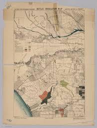 map of santa santa detail irrigation map david rumsey historical map