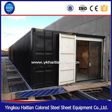 buy new beautiful prefab ce shipping container bar in china on