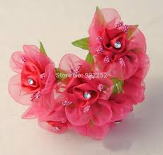 satin ribbon flowers 2017 flower satin ribbon artificial small roses with leaves