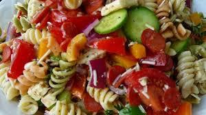 pasta salad with homemade dressing recipe allrecipes com