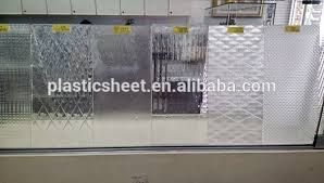 Plexiglass Shower Doors Patterned Polystyrene Plexiglass Plastic Sheet For Shower Door