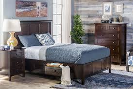 Full Bedroom Copenhagen Brown Full Storage Bed Living Spaces