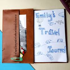travel diary images Personalised leather travel journal diary by stabo jpg