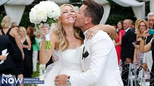 Sensational Videos See Kym Johnson U0027s Second Wedding Dress People Com