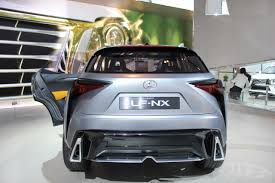 lexus lf nx lexus lf nx concept rear at naias 2014 indian autos blog