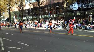 charlotte thanksgiving parade vance high the charlotte thanksgiving parade 2016 youtube