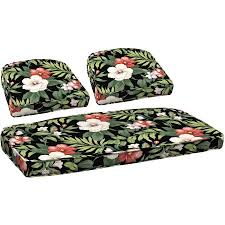 Wicker Settee Cushion Set Better Homes And Gardens Outdoor Patio Wicker Cushion Set With