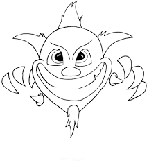 scary clown cartoon free download clip art free clip art on