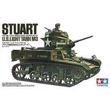 jeep tank military ohs tamiya 35042 1 35 us stuart us light tank m3 military assembly