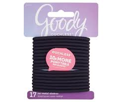 goody hair products goody ouchless elastic hair ties 17ct beauty expert target