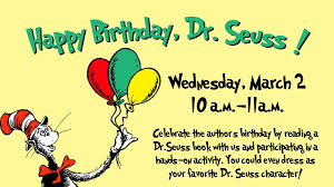 happy birthday dr seuss happy birthday dr seuss outer banks child