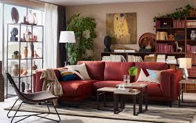 Ikea Sofas And Armchairs Ein Mittelgroßes Wohnzimmer U A Eingerichtet Mit Nockeby 2er