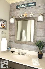Decorate A Bathroom Mirror Seaside Themed Bathroom Mirrors Nautical Livingroom Decorating Uk