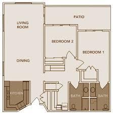 2 Bedroom 1 Bath House Plans Marvellous 2 Bedroom Bath Duplex Floor Plans Photo Decoration