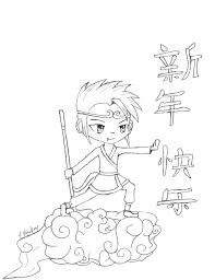 free printable chinese coloring pages chinese