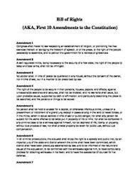 Bill Of Rights Worksheet Answers This Graphic Organizer Allows Students And Teachers To Discuss The