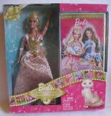 barbie princess pauper anneliese doll dvd giftset brand