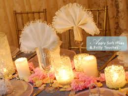pretty decorating ideas for a shabby chic bridal shower