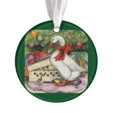 goose ornaments keepsake ornaments zazzle