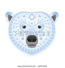 Polar Bear Head Christmas Decoration by Bear Face Stock Images Royalty Free Images U0026 Vectors Shutterstock