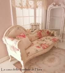 Shabby Chic Chaise by Marie Antoinette Shabby Chic Chaise Longue Day Bed 1 12 Sunroom