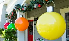 9 outdoor ornaments merry oversized