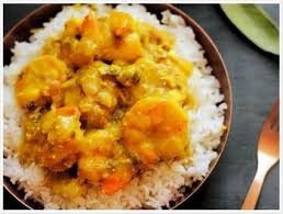 cuisine crevette crevettes au curry au lait de coco recettes de cuisine indienne