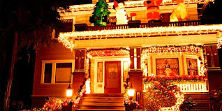 Home Made Decoration For New Year by Home Decoration For The New Year With Bright Lights Some Ways To