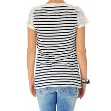 total look rigato t shirt hilfiger stripes blue white