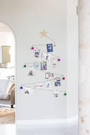 simple diy holiday card display design improvised