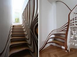 Curved Stairs Design Architecture And Home Design Stylish Curved Staircase Design By