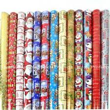 christmas gift wrap rolls 4 x 10m christmas gift wrap roll assorted random wrapping